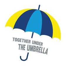 Insieme sotto l'ombrello