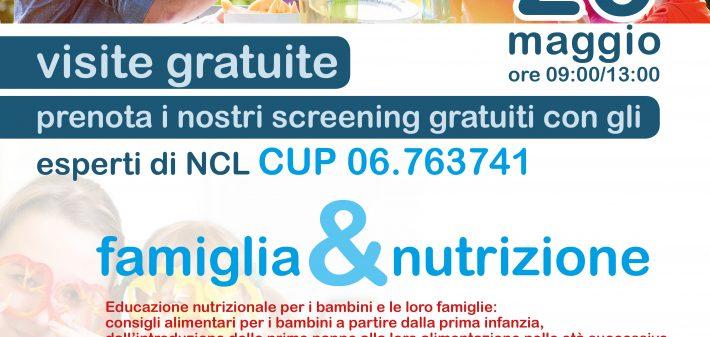 locandina nutrizione 26 maggio